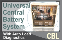 Universal Central Battery - Series CBL