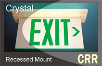 Crystal Recessed - Series CRR