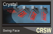 Crystal Swing Face - Series CRSW