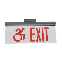 Series CAE - Crystal Accessible Edge Lit Exit